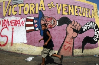 Anti-imperialism and hostility towards Western influence has been commonplace since the Bolivarian Revolution.