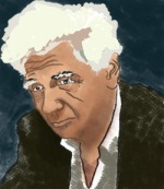 Jacques Derrida by Pablo Secca