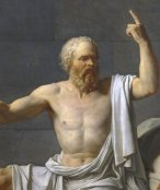 Death of Socrates (1787) by Jacques-Louis David