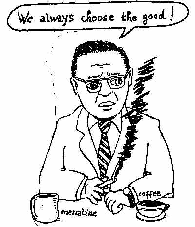 existentialism and existence precedes essence Philosophy 102: introduction to philosophical inquiry sartre, existential ethics 1 explain what existence precedes essence means.