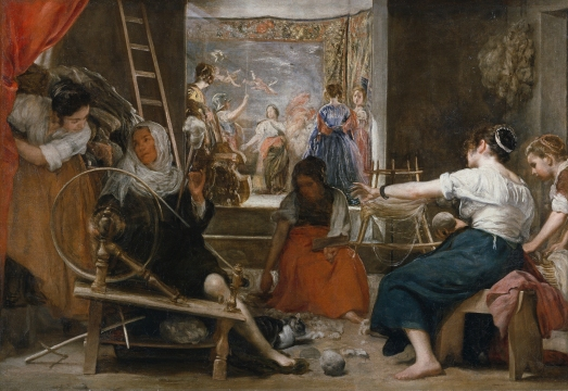 Las Hilanderas (1657) by Diego Velazquez