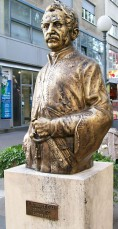 Statue of Ljudevit Gaj in Zagreb, Croatia