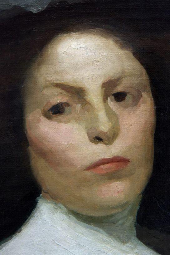 Dama u bijelom -- Detail