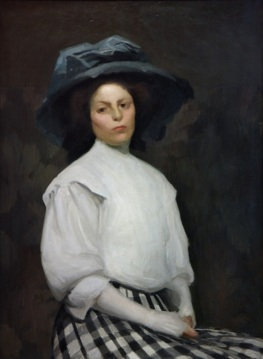 Dama u bijelom (Lady in White), 1908.