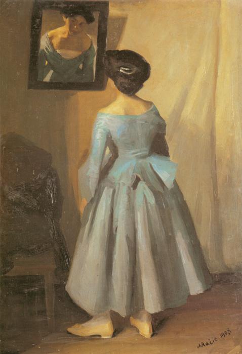 Pred ogledalom