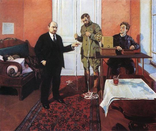 igor-grabar-vladimir-lenin-at-the-direct-wire-1935